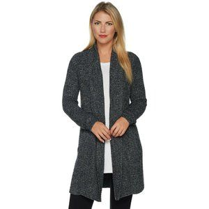 BAREFOOT DREAMS 3x Gray Cozy Montecito Cardigan